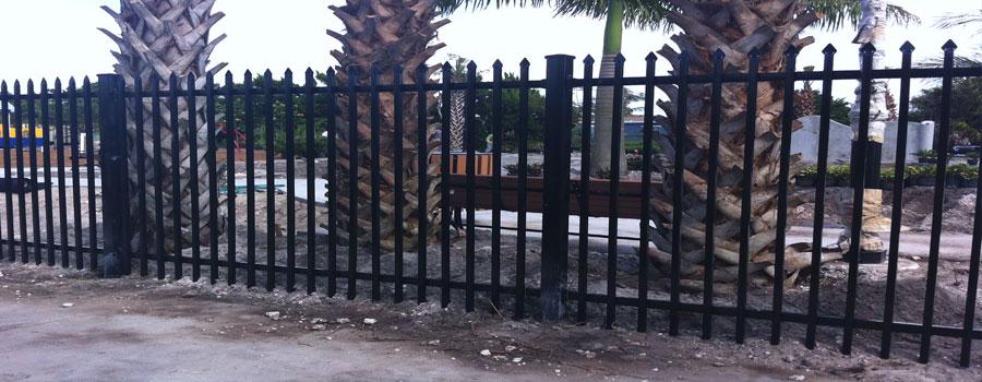 Miami Fence Company Miami Commercial Fence Miami